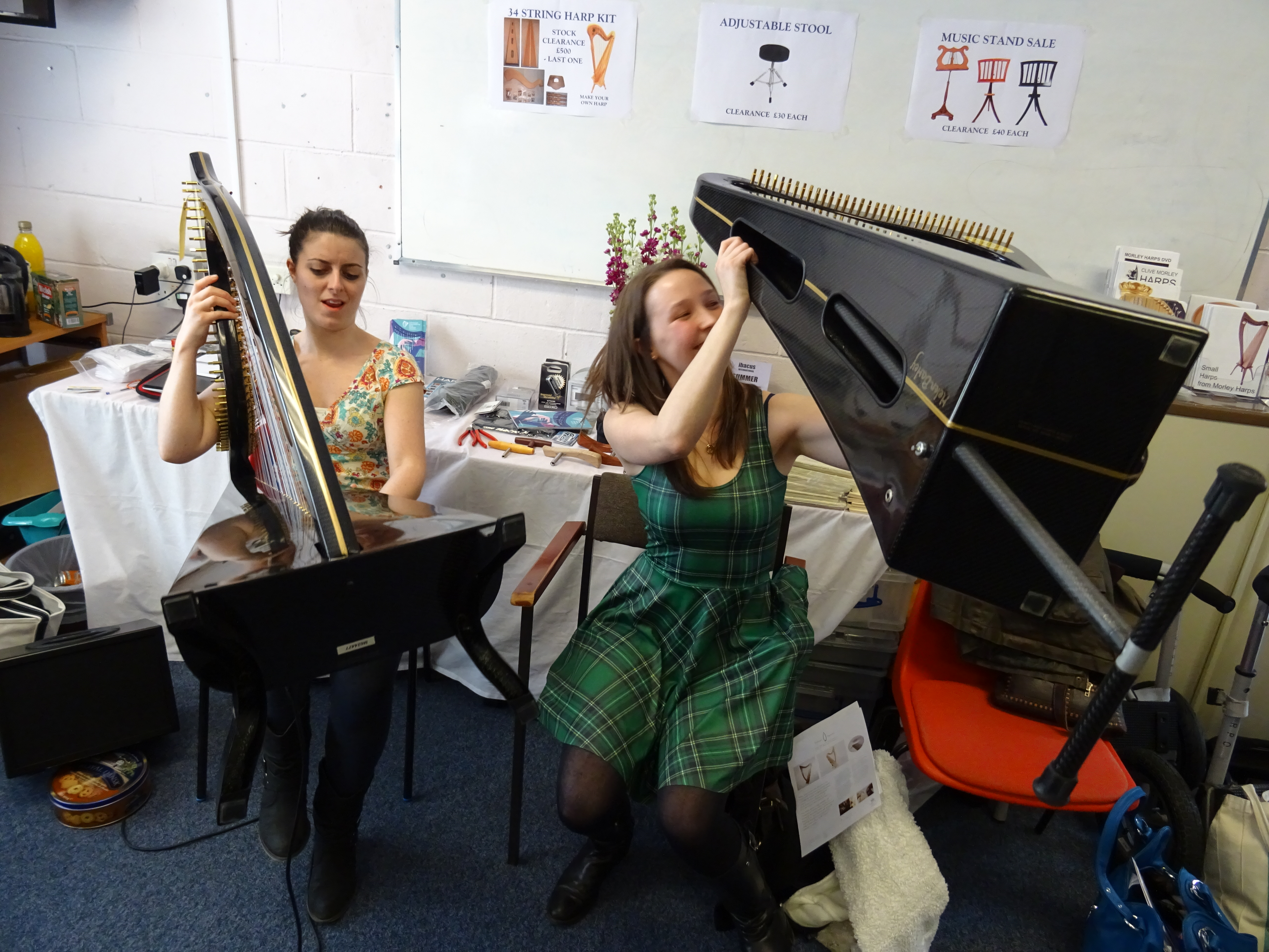 Edinburgh International Harp Festival 2015 – Angelina Warburton